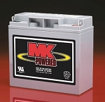MK Rechargable Sealed 12 Volt Lead Acid Battery